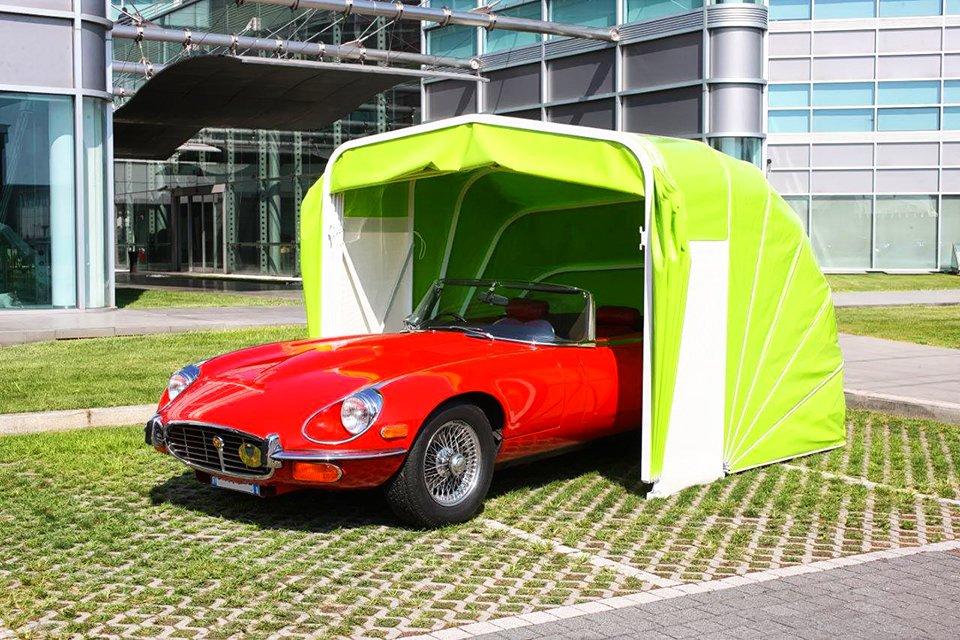 Box auto e moto a chiocciola o a tunnel in alluminio e PVC
