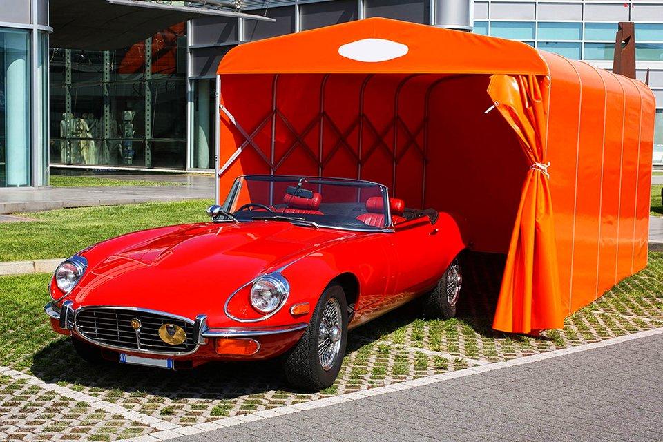 Box Auto a Tunnel in PVC - Verona - Stameat srl